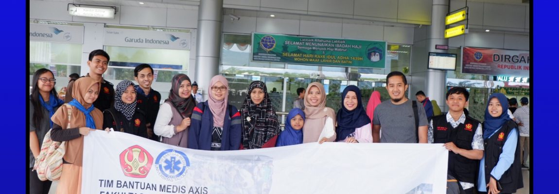 TIM MEDIS AXIS FOR HUMANITY GEMPA LOMBOK