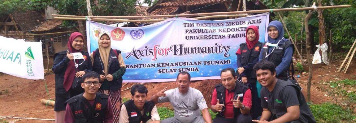 AXIS FOR HUMANITY TSUNAMI SELAT SUNDA